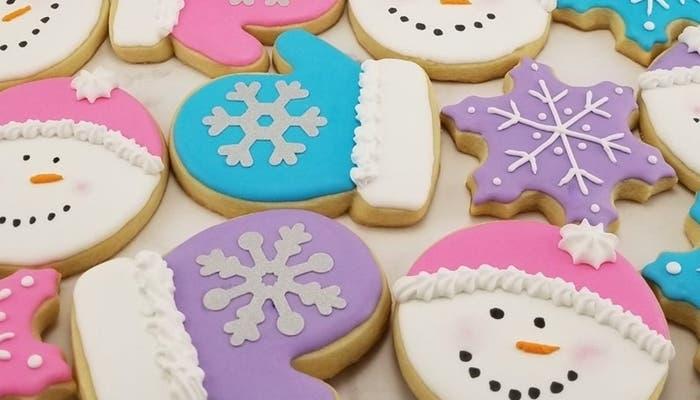 Receta de galletas navidenas de munecos de nieve