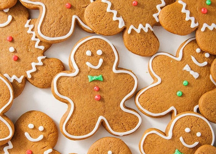 galletas de hombres de pan de jengibre