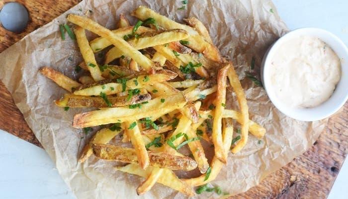 Patatas fritas a la francesa-1