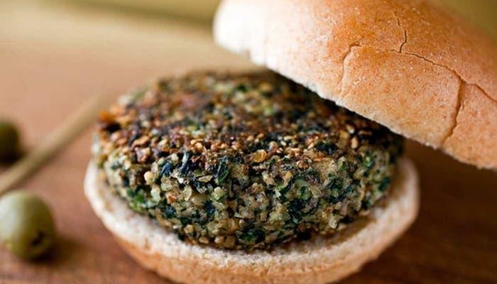 Receta de hamburguesas de espinacas