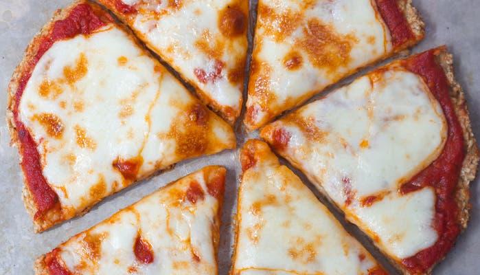 Pizza de avena