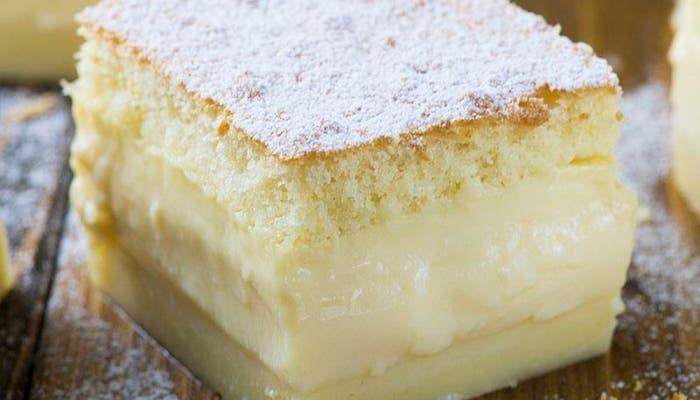Tarta magica o pastel inteligente