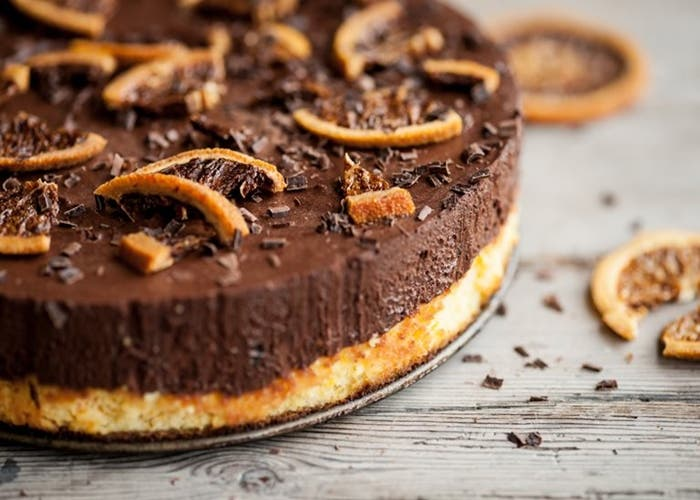 Pastel de chocolate y naranja, receta paso a paso