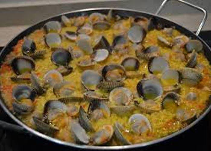 Receta de arroz con berberechos