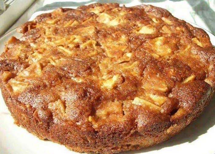 receta de torta de manzanas