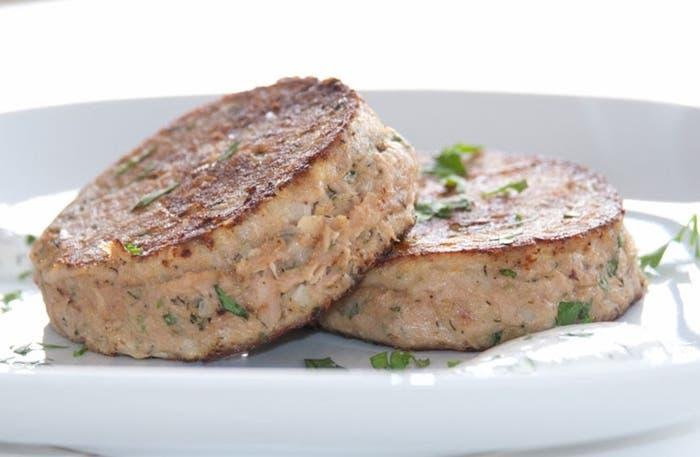 Receta de hamburguesa de atún