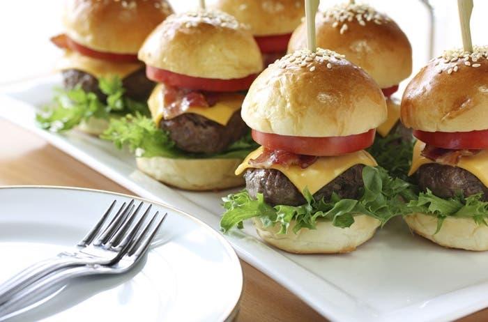 Receta de mini hamburguesas