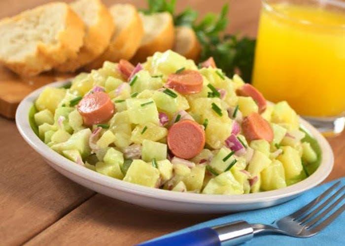 ensaladade patatas