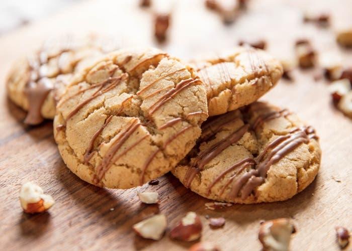 receta de galletas de avellanas