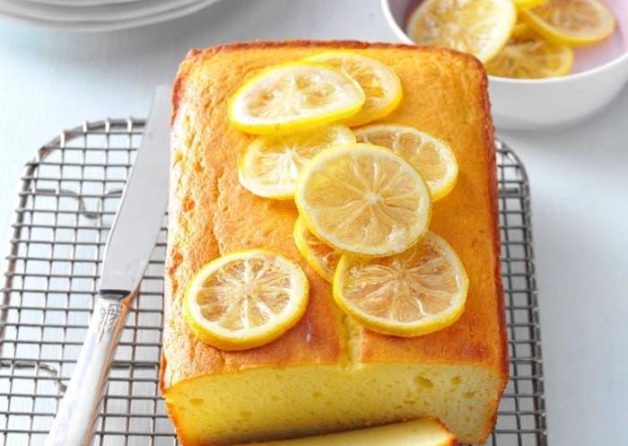 Bizcocho de limon con yogur