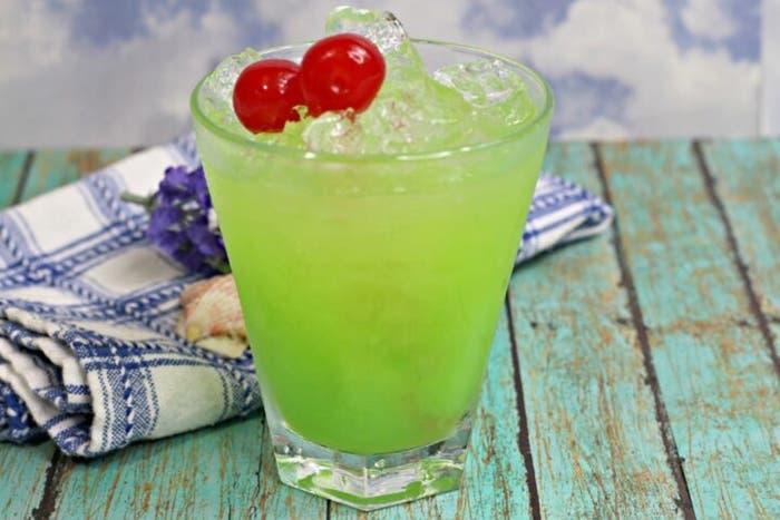 Coctel de iguana verde