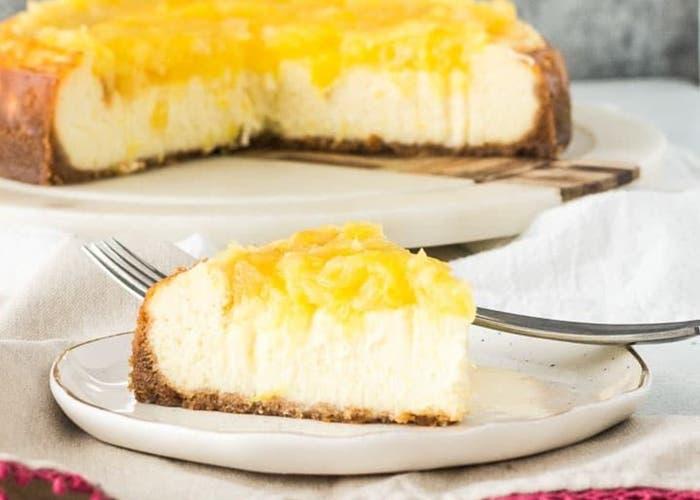 cheesecake de pina