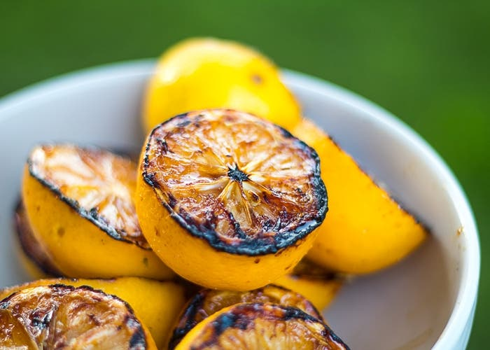 limones a la plancha