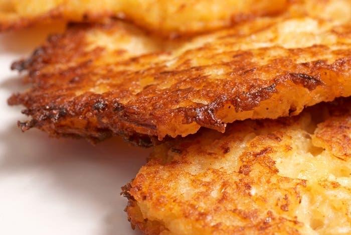 Latkes de patatas