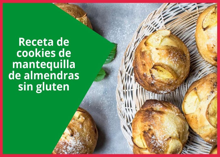 cookies de mantequilla de almendras sin gluten