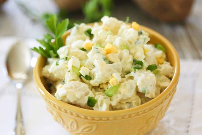 Ensalada de patatas cremosa