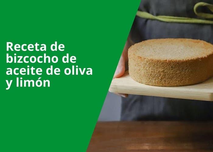 Receta de bizcocho de aceite de oliva y limón