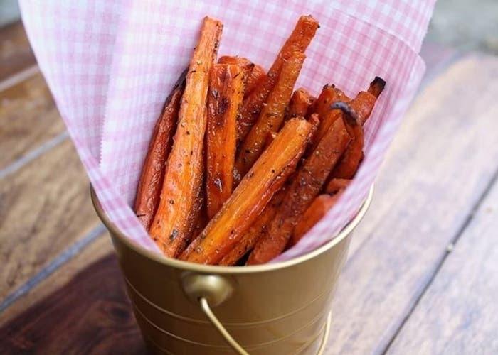 Bastones de zanahoria asados-1