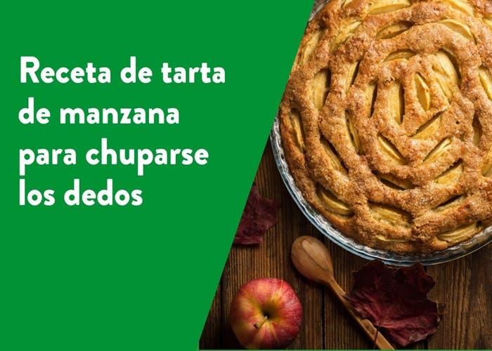 Receta de tarta de manzana para chuparse los dedos