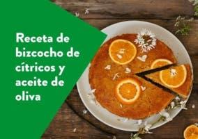 bizcocho de cítricos y aceite de oliva