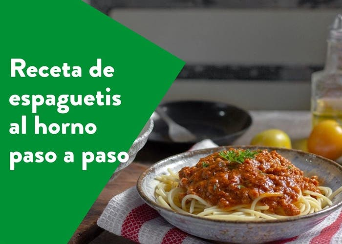 espaguetis al horno