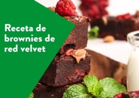 brownies de red velvet