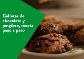 galletas de chocolate y jengibre