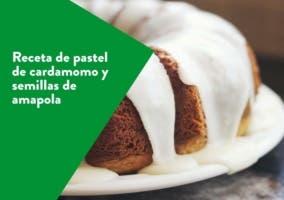 pastel de amapola