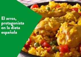 El arroz, protagonista en la dieta española