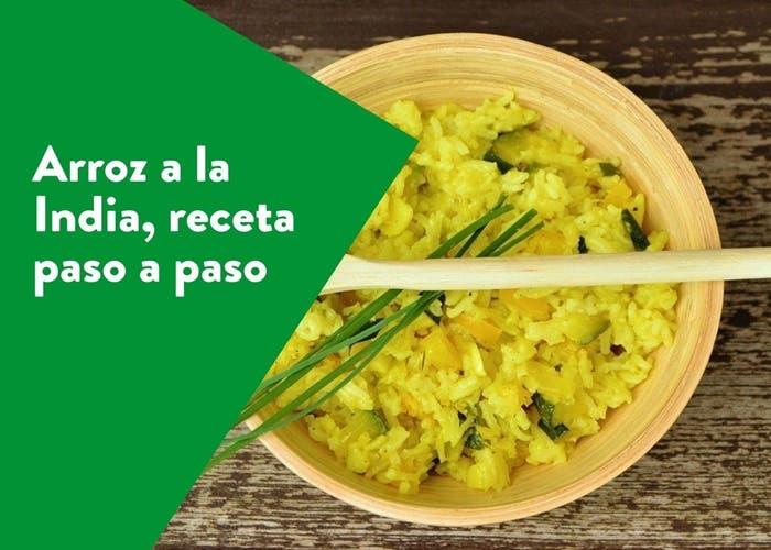 arroz a la india
