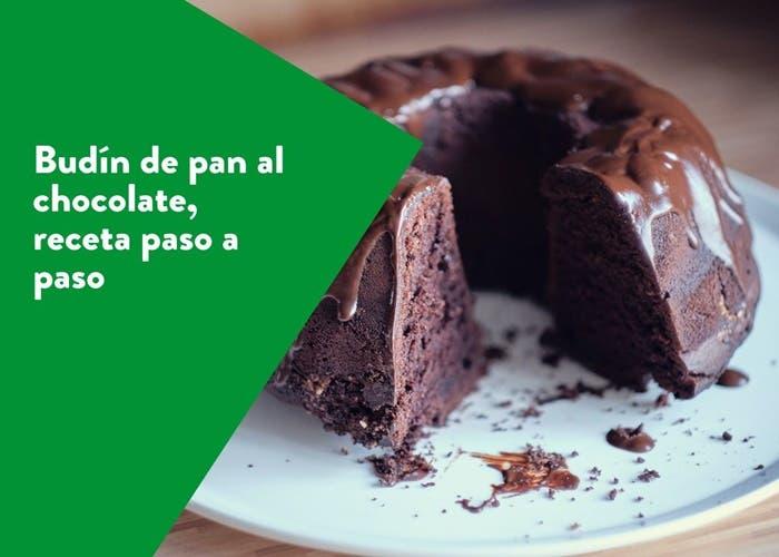budin de pan al chocolate