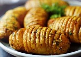 Los carbohidratos y patatas