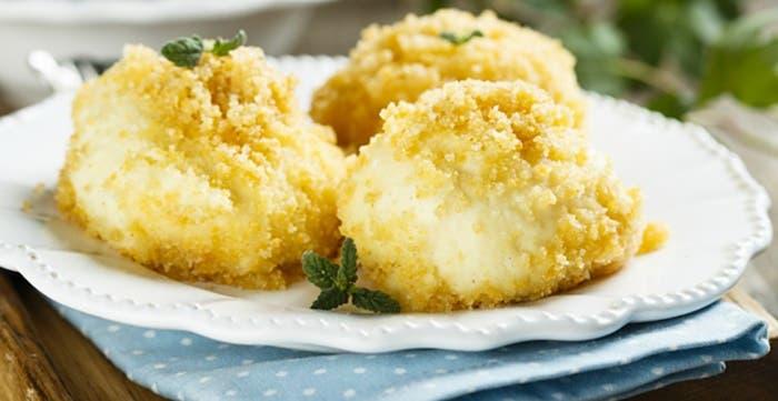 Albóndigas de patatas y queso