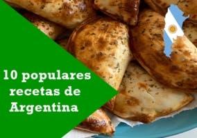 10 populares recetas de Argentina