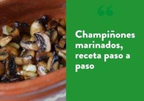champinones marinados