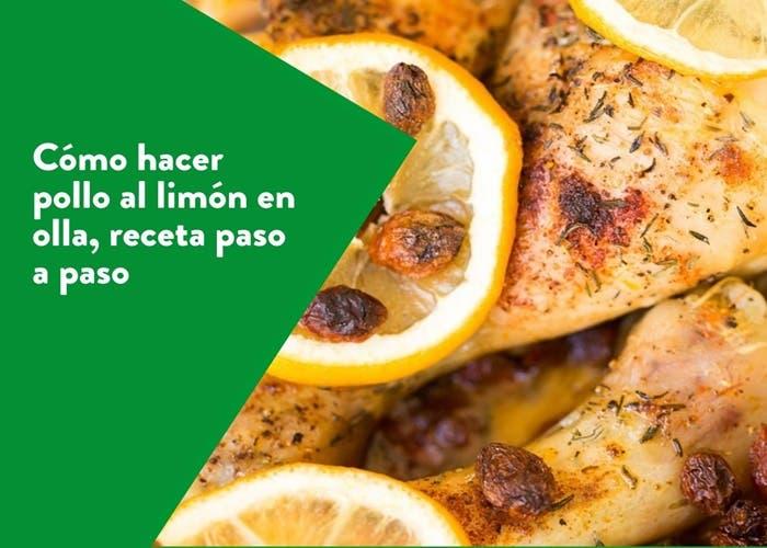 como hacer pollo al limon en olla