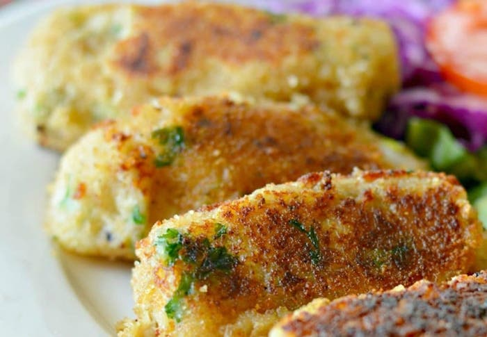 croquetas de patatas y atun