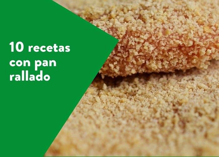 recetas con pan rallado