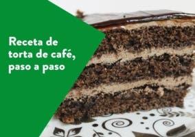 Receta de torta de café, paso a paso