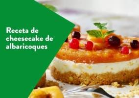 Cheesecake de albaricoques