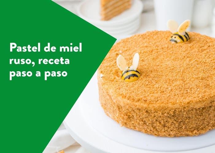 pastel de miel