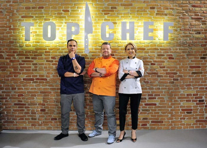 Jurado del reality top chef España