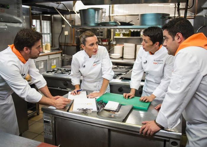 Episodio 5 de Top Chef, equipo naranja