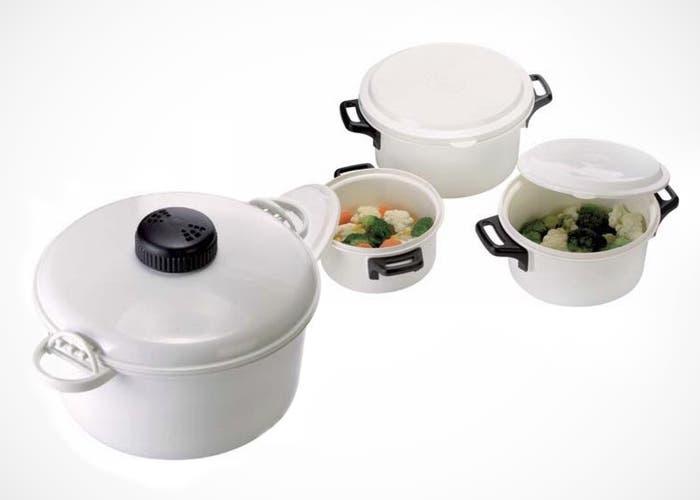 Productos para cocinar con el microondas indispensables for Cocinar microondas