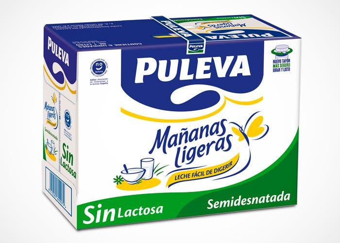 Pack de leche Puleva Mañanas ligeras