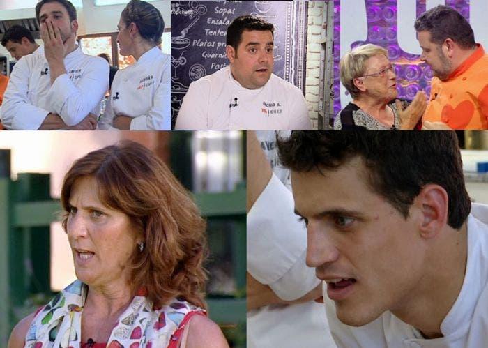 Episodio 8 de top chef, madres
