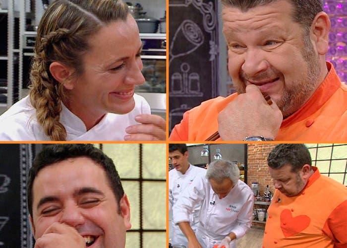 Momentos de risa en las primera prueba de Top Chef 10